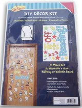 NIP Dr. Seuss ''Hats Off to Reading'' Cat in The Hat DIY Decor Kit - 51 Piece in Okinawa, Japan