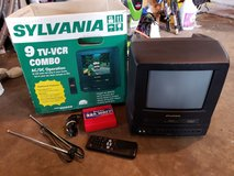 Sylvania 9 TV-VCR Combo in Camp Lejeune, North Carolina