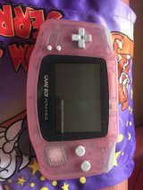 nintendo advance pink with two games in Fort Hood, Texas