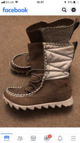 Womans The North Face winter boots uk 6 in Lakenheath, UK