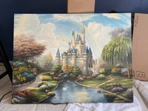 Castle Painting on Canvas in Westmont, Illinois