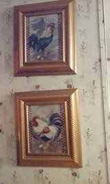 2 PIECE ROOSTER ART WORK in Beaufort, South Carolina