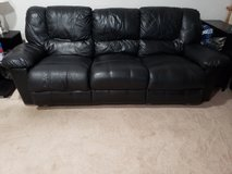 ** REDUCED** Leather  Couch in Alamogordo, New Mexico