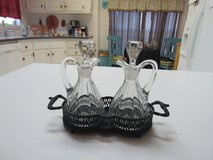 oil and vinegar glass with holder in Alamogordo, New Mexico
