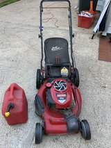Briggs and Stratton self propelled lawn mower in Kingwood, Texas