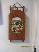 wood sled wall decor in Alamogordo, New Mexico