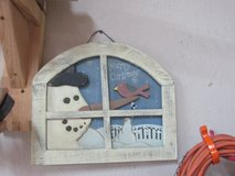 snowman wall decor wood in Alamogordo, New Mexico