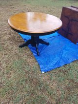 round dining table in Warner Robins, Georgia