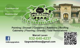 Full service remodeling co. in Conroe, Texas
