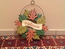 Fall Door Hanger in Ramstein, Germany