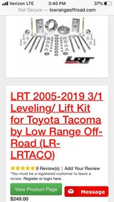 New Tacoma Lift Kit in Orland Park, Illinois