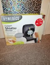 Compact Shiatsu Massager Back Seat HOMEDICS in Ramstein, Germany