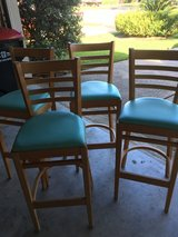 Wood Bar Chairs/Stools for sale in Houston, Texas