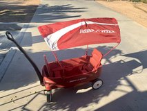 Radio flyer in Yucca Valley, California