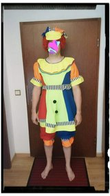 Clown XL adult costume in Fort Drum, New York