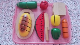 Melissa and Doug slice and serve play food in Naperville, Illinois