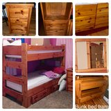 Gallery Furniture 7 pc Bunkbed set in Kingwood, Texas