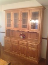 Amish China Cabinet/Dining table/Chairs in Chicago, Illinois