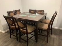 solid Wood 8 Chairs Dinning Set in Alamogordo, New Mexico
