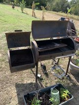 Outdoor cooker in Beaufort, South Carolina