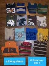 Gymboree long sleeve shirt lot ~ size 4 in Houston, Texas