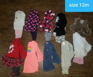 baby girl lot ~ size 12m in Houston, Texas