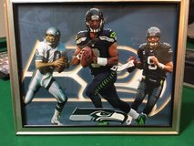 *** SEAHAWKS - Wilson, Hasselbeck & Zorn (#2) 8x10 framed Lithograph *** (NEW) in Tacoma, Washington