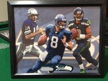 ** SEAHAWKS - Hasselbeck, Wilson (print #1) & Zorn 8x10 framed Lithograph **(NEW) in Tacoma, Washington
