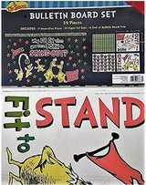 DR. Seuss 59 Piece WHY FIT in When You were Born to Stand Out? Bulletin Board Set in Fort Drum, New York