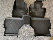 Weather tech mats for Audi Q3 in Bellaire, Texas