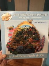 Large Shaped Puzzle in Naperville, Illinois
