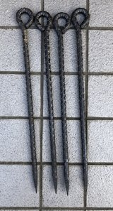 23.5 inch Steel stakes in Okinawa, Japan