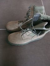 1 time worn sz 12 men boots in Spangdahlem, Germany
