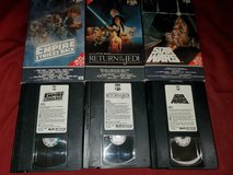 STAR WARS VHS antique/collectables! in Travis AFB, California