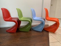 Color chairs in Travis AFB, California