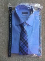 Van Huesen Shirt with Tie. in Fort Knox, Kentucky