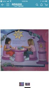 Disney Tangled transforming table and chair set in Orland Park, Illinois