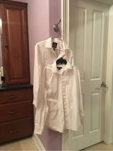 men's white dress shirts Long Sleeve in Naperville, Illinois