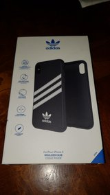 iPhone X Adidas Black White Phone Case in Naperville, Illinois