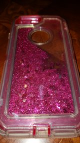 iphone 8 Plus Pink Glitter Gel Case in Naperville, Illinois