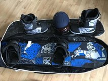 Men's Snowboard w/bindings and Boots *updated* in Stuttgart, GE