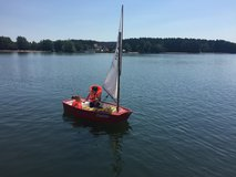Optimist (kids sailboat) in Ansbach, Germany
