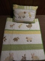 Pottery Barn Crib Bedding Ensemble in Orland Park, Illinois