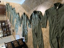 7 New Flight Suits and 2 Jackets in Converse, Texas