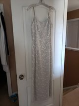Silver gown, size 11/12* in Camp Lejeune, North Carolina