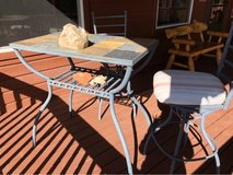 High slate top table  and chairs in Alamogordo, New Mexico