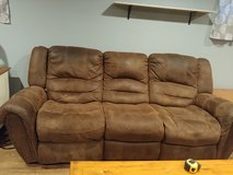 Reclining couch in Joliet, Illinois