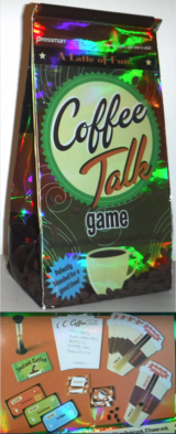 New! Pressman Coffee Talk Game ~ 2 or more players / Ages: Teen - Adult in Chicago, Illinois