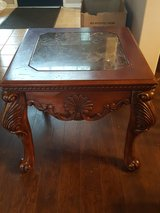 End Table with Marble top in Kingwood, Texas