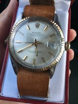 Rolex (1966 vintage leather band ,18k) in Nellis AFB, Nevada